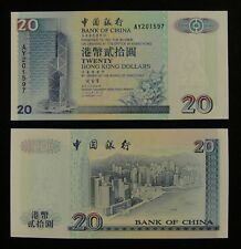 2002 $10 Hong Kong Government Banknote Unc Pick 400a Ae 958946