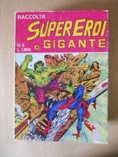 Raccolta SUPEREROI GIGANTE n°3 1984 Edizioni Corno [G487]
