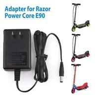 Wall Charger Adapter for RAZOR ELECTRIC SCOOTER POWER CORE E90 CORE 90 PC90