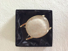 Dyrberg/kern bracelet/cuff gold tone NWOT comes with dust bag, see pic