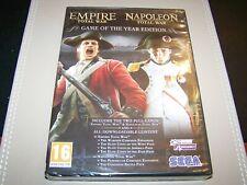 Total War Napoleon & Empire GOTY Edition **New & Sealed** (Damaged)