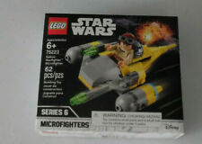 LEGO Star Wars Naboo Starfighter Microfighter 75223 62 Piece Building Toy Age 6+