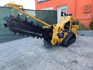 2016 Vermeer RTX250 Pedestrian Trencher, TRACKS,  Low hours of use