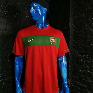 Portugal Jersey Home football shirt 2010 - 2012 Nike 376894-611 Mens Size XL