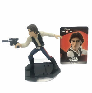 Disney Infinity 3.0 Star Wars Han Solo Character Action Figure Game Piece & Card