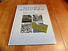BATTLES OF WORLD WAR II D-DAY 1944 (2) Utah Beach US Airborne Landings Book NEW