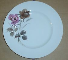 W H Grindley Satin White Side Plate Roses