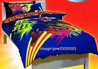 Superman - Colourful - DC Comics - Single/USTwin Bed Quilt Doona Duvet Cover Set
