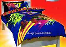 Superman - Colourful - DC Comics - Single/USTwin Bed Quilt Doona Duvet Cover Set
