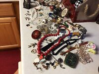 junk drawer  lot , Bracelets Mexico, Some wearable Jewelry,so Many Fun Things
