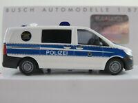 """Busch 51144 Mercedes-Benz Vito """"Bundespolizei / Hundeführer"""" 1:87/H0 NEU/OVP"""
