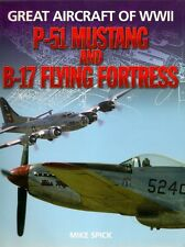 P-51 MUSTANG & B-17 FLYING FORTRESS bomber fighter world war 2 combat aircraft