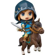 The Legend of Zelda Breath of the Wild Nendoroid Action Figure Link Deluxe Editi