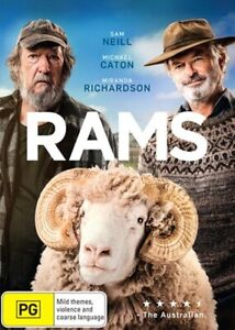 RAMS DVD, NEW & SEALED ** NEW RELEASE ** 270121, FREE POST,