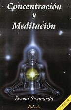 Concentración y meditación. NUEVO. Nacional URGENTE/Internac. económico. FILOSOF