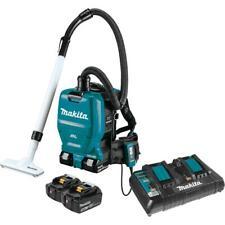 Makita Backpack Extractor Vacuum Kit 1/2 Gal. 18-Volt X2 LXT 5.0Ah HEPA Cordless