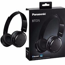 Panasonic RP-BTD5E-K Bluetooth Headphones-Frequency Response Buttons 18-20,0