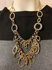 """CHRISTOPHER & BANKS 23"""" MIXED METAL NECKLACE  NWT"""
