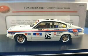TRAX TRR74C 1:43 scale resin model of the Country Dealer Team Holden TD Gemini