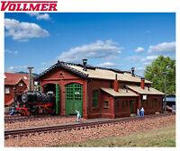 Vollmer N 47608 Lokschuppen, zweiständig - NEU + OVP