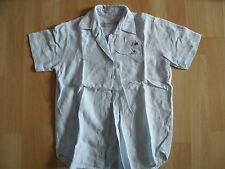 DONALDSON schönes Hemd hellblau m. Rückenmotiv Gr. 10 J TOP OA215