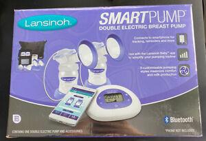 Lansinoh SmartPump Double Electric Breast Pump 44677-0531-50 NEW BLUETOOTH