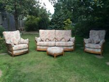 Ercol Renaissance Suite 3seater,2chairs and a footstool