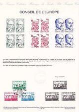 Document Philatélique Timbre 1er Jour : 22/12/ 1986 - Conseil de l'Europe
