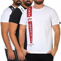 Alpha Industries Herren T-Shirt Herrenshirt kurzarm Shirt Tee Rundhals 198512