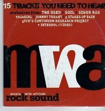 (DA237) Rock Sound Vol 43, MWA - Dec 2002 CD