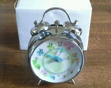 BRAND NEW Floral alarm clock/BOXED great present item