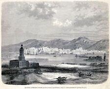 Messina: Resa dei Forti Comandati dal Generale Fergola.Sicilia.Risorgimento.1861