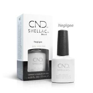 CND Shellac UV Gel Nail Polish - Negligee 0.25oz