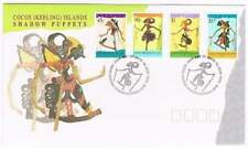 Cocos (Keeling) Islands 1994 FDC 325-328 - Shadow Puppets