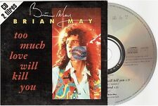 BRIAN MAY TOO MUCH LOVE WILL KILL YOU france french CD SINGLE card sleeve QUEEN