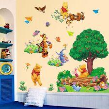 Cartoon Winnie the pooh Tree Wall Sticker Vinyl Art Kids Baby Room Nursery Decor