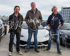 Top Gear signed Jeremy Clarkson James May photo 8X10 poster picture autograph RP