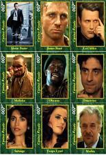 Casino Royale - James Bond movie Trading cards 007