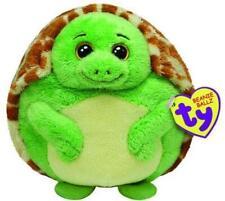 "TY Beanie Ballz 9"" Plush Turtle Zoom"