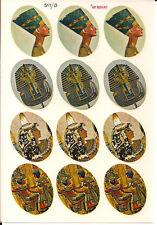 12 Abziehbilder | Ägyptische Motive | 1 Bogen ART DECO-CALS - pa006