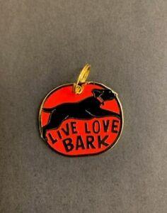 Enamel Dog Collar Charm – Live Love Bark