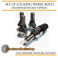 Wobbly Locking Wheel Bolts 12x1.25 For Lancia Delta Integrale 16v 89-94