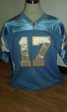 San Diego Chargers Philip Rivers #17 Sz 52 Reebok Onfield Authentic Jersey NWT