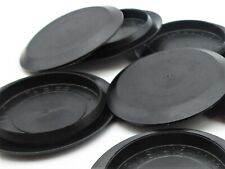 Hole Plugs for Sheet Metal & Plastics. Snap-In, Black PE. Flush. 15 Sizes