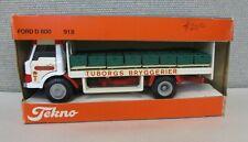Vintage TEKNO 1:43 FORD D800 #918 TUBORGS BRYGGERIER BEER TRUCK in ORIG BOX