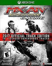 XBOX ONE MX VS ATV SUPERCROSS ENCORE  2017 OFFICIAL TRACK EDITION BRAND NEW
