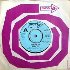 BRENDA LEE 'Johnny One Time/I Must Have Been Out Of My Mind' MCA Demo 45