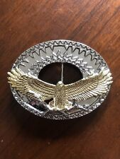 Western American Bald Eagle With Bottle Opener Metal Unisex Men's Belt Buckle