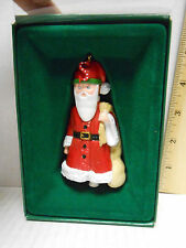 "Vintage 1986 Midwest Mary Engelbreit Pageant Ornament ""S"" Is For Santa"