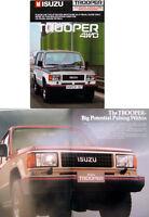 Isuzu Trooper 4WD 1987/88 Original UK Sales Brochure No. E880-UBS